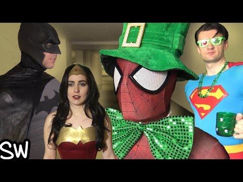 THE NETFLIX CHALLENGE! Spider-Man, Supergirl, Wonder Woman