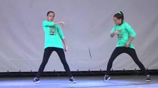"""Танец """"Хватит учить - давай танцевать!"""" (hip-hop) - Соня Макиенко и Ксюша Макиенко"""