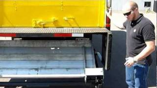 Tuck-Away Lift Gate Operation And Safety