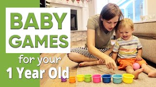 Learning Games for a 1 Year Old