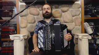 How to Play Chromatic Button Accordion B System (Bayan) - Lesson 1 - Major Scales C, Eb, Gb, A