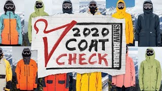 SNOWBOARDER COAT CHECK: TOP 2020 Mens And Womens Outerwear Intro