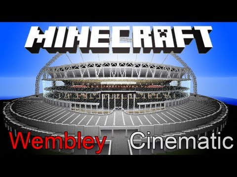 Englands Football Stadium Wembley Minecraft Project