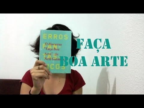Livro | Faça boa arte (Neil Gaiman)