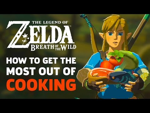 Video How To Get The Most Out Of Cooking in Zelda: Breath Of The Wild