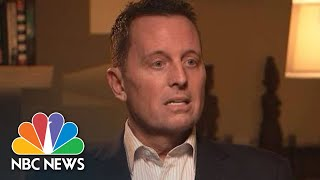 Richard Grenell On Global LGBT Decriminalization: I'm Supported By Both Parties   NBC News