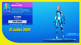 BOUTIQUE FORTNITE Du 31 Juillet 2020 ! ITEM SHOP July 31 2020 !