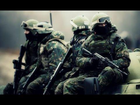 Ruská elitní zásahová jednotka Spetsnaz