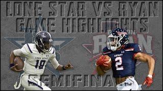 Frisco Lone Star vs Denton Ryan - 2019 Texas High School Football Playoff Highlights