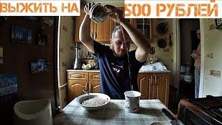 СКОЛЬКО ДНЕЙ Я СМОГУ ПРОЖИТЬ НА 500 РУБЛЕЙ день 2-3