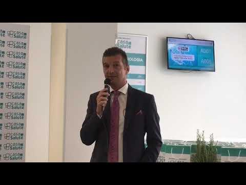 L'AD di Casa della Salute Marco Fertonani all'evento di inaugurazione