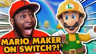 Slopes are in Super Luigi Maker! | Super Mario Maker 2 LIVE REACTION!