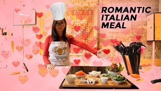How to make a romantic Italian dinner for your girlfriend