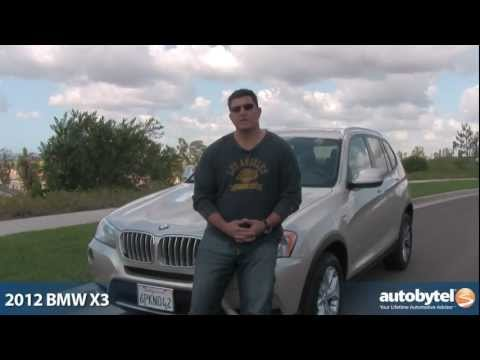 2012 BMW X3: Video Road Test and Review