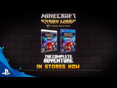 Видео № 1 из игры Minecraft: Story Mode [Xbox One]