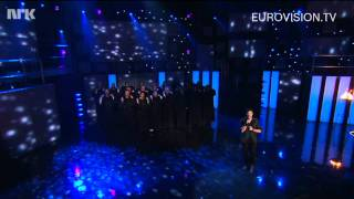 "Didrik Solli-Tangen sings ""My heart is yours"" at Melodi Grand Prix 2011"