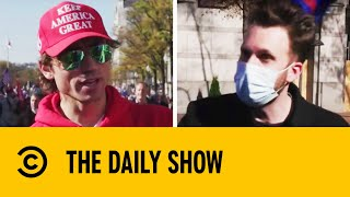 Jordan Klepper At The Million MAGA March | The Daily Show With Trevor Noah