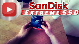 SanDisk Extreme Portable SSD externe Festplatte 1TB + Secure Access + Vergleich zur alten Festplatte