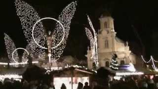preview picture of video 'Ludwigsburg Weihnachtsmarkt 2010 / Christmas market / marché de Noël'