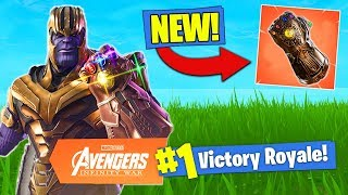 *NEW* INFINITY GAUNTLET WEAPON Coming Soon To Fortnite Battle Royale!