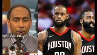 "Stephen A. Smith Defends LeBron James Team Up Harden:""They"