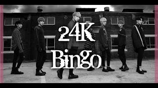 24K - BINGO MV names/members