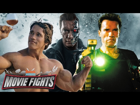 What Schwarzenegger Character Would Win in a Battle Royale? - MOVIE FIGHTS!!
