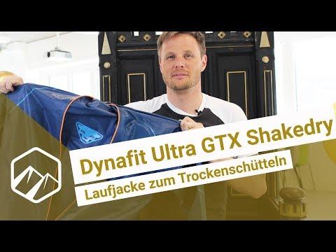 Dynafit Ultra GTX Shakedry 150: Laufjacke zum Trockenschütteln | Bergzeit