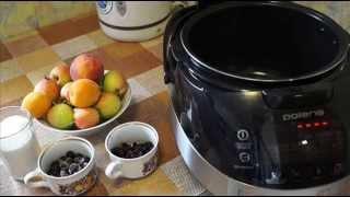 Домашние видео рецепты - компот из яблок и ягод в мультиварке