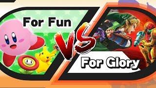 For Glory vs For Fun (Smash 4)