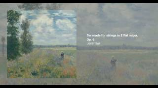 Serenade for strings in E flat major, Op. 6