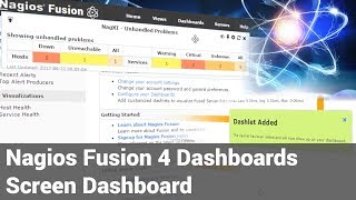Screen Dashboard - Fusion
