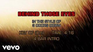 3 Doors Down - Behind Those Eyes (Karaoke)