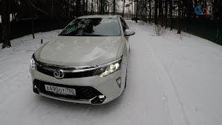 Toyota Camry 2017 лучше Hyundai Sonata? Что нового, честный Тест-Драйв.