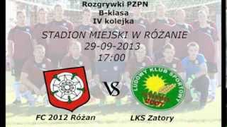 preview picture of video 'FC 2012 Różan vs LKS Zatory 2007 - Bramki z meczu'