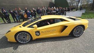 Ongemakkelijke situatie met Lamborghini eigenaar..