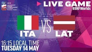 Italy Vs. Latvia   Full Game   2019 IIHF Ice Hockey World Championship