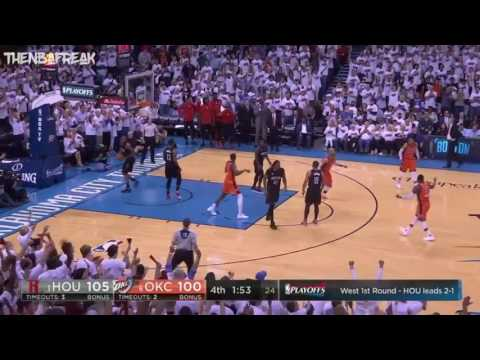"Mike Breen ""Bang"" – Rockets vs Thunder Game 4"