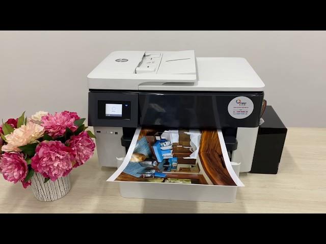 HP7740 Officejet (khổ lớn A3): in ảnh
