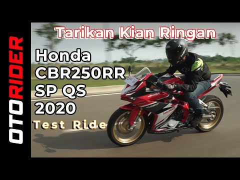 Honda CBR250RR SP QS Test Ride Harian | OtoRider