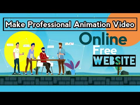 Make animation video online   online animation free website