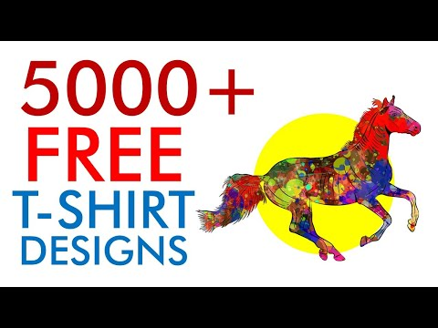 FREE & INEXPENSIVE T-SHIRT DESIGNS - Legal For Print on Demand Use (Redbubble, Etsy, etc.)