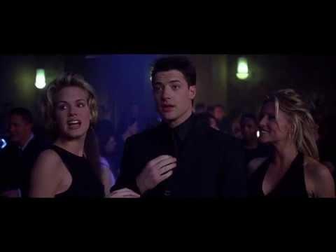 blast from the past dance scene hq brendan fraser 1999