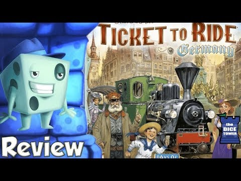 Ticket to Ride: Germany Review - with Tom Vasel