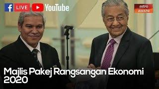 #MALAYSIA2020:MAJLIS PAKEJ RANGSANGAN EKONOMI 2020