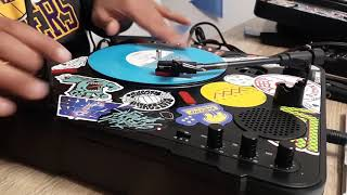 DAY 76 - Turntable Instrument (100 days of scratching)