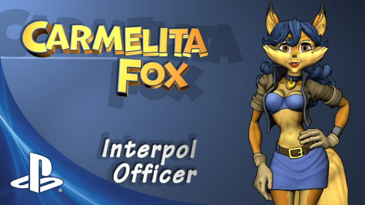 Happy Valentine's Day from Inspector Carmelita Fox