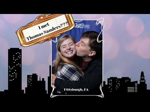 STORY TIME! I MET THOMAS SANDERS?? (Pittsburgh, PA Vlog)