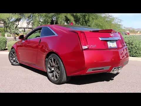 2011-2015 Cadillac CTS-V Coupe with Billy Boat Exhaust