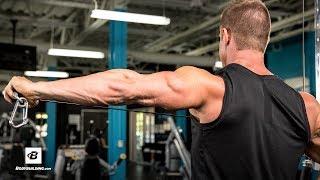 High-Volume Triceps-Builder | IFBB Physique Pro Brandan Fokken 出處 Bodybuilding.com